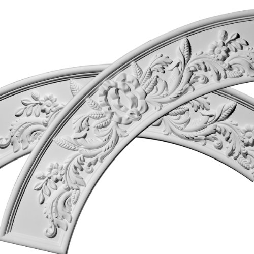 """Price comparison product image 49 1 / 4""""OD x 37 1 / 4""""ID x 6""""W x 1 1 / 4""""P Tomango Ceiling Ring (1 / 4 of complete circle with use of ONL04X06X01OX)"""