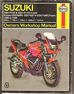 buy suzuki gsx r750 and gsx r1100 fours katana gsx600f gsx750f rh amazon in Suzuki Katana 600 Accessories Suzuki GSX 600
