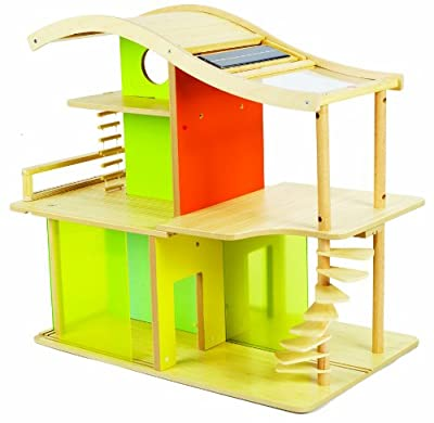 Hape Bamboo Sunshine Dollhouse Ds by Hape