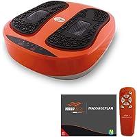 Mediashop VibroLegs Vibrationsplatte Trainingsgerät ✓ rutschfest ✓ Massageplan ✓ 2 Programme ✓ Entspannung ✓ Fußmassage ✓ fördert Durchblutung ✓ Fernbedienung vibro Legs | Das Original aus dem TV