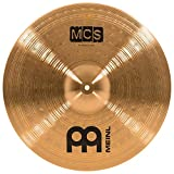 Meinl 18'' Crash Cymbal - MCS Traditional Finish Bronze for Drum Set, Made In Germany, 2-YEAR WARRANTY (MCS18MC)