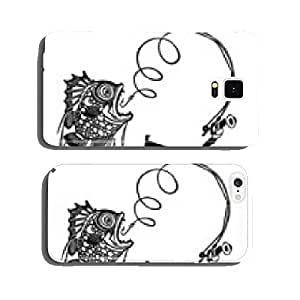 Man Catching Big Fish cell phone cover case iPhone5