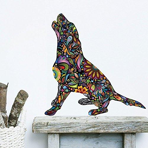 My Wonderful Walls Barking Beagle Dog Wall Sticker Decal (Beagle Dog Sticker)