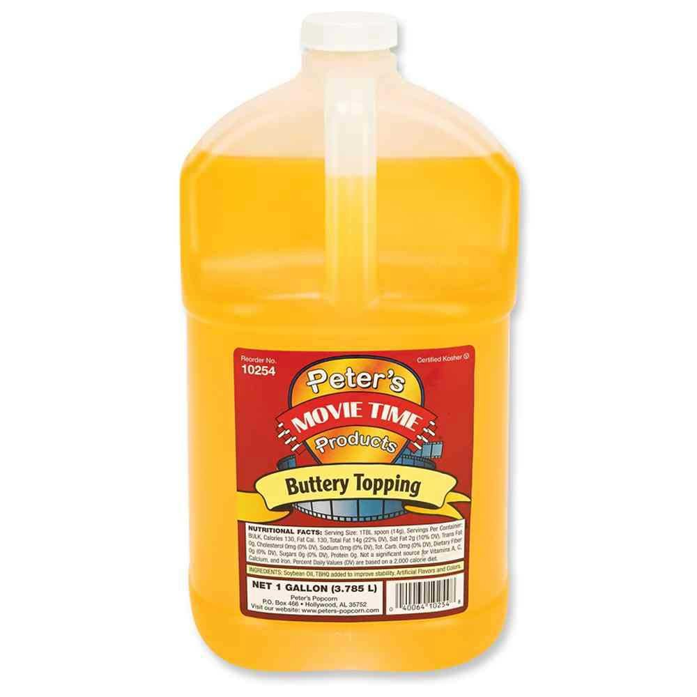 Great Western Peters Movie Time Buttery Topping, 4 Gallon -- 1 each. by Great Western (Image #1)