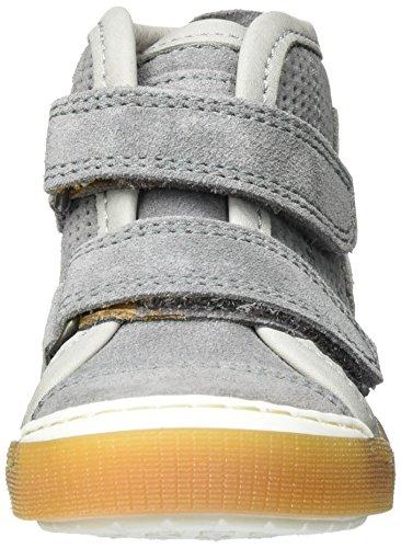 Bisgaard Unisex-Kinder Klettschuhe High-Top Grau (403 Grey)