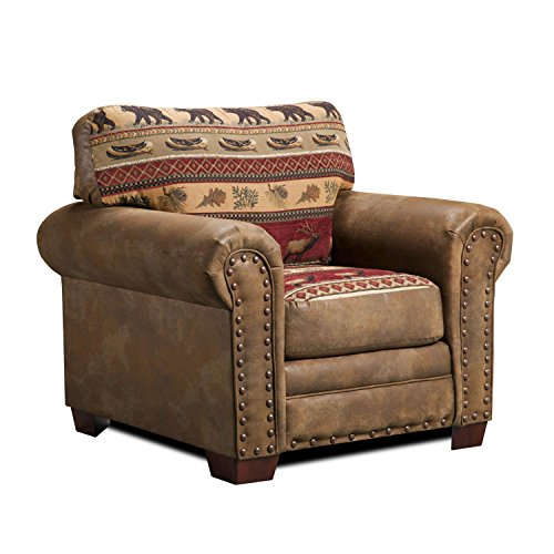 American Furniture Classics Sierra Lodge Chair (Furniture And Decor Lodge)