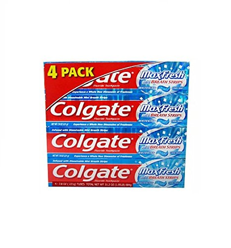 Colgate MaxFresh Toothpaste pk 7 8