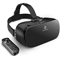 VR Headset for iPhone Android Phones, GEARSONE Virtual Reality Goggles VR Glasses with Controller for iPhone Xs XR X 8 7 Plus, Samsung S10 S9 S8 Plus/Note 8 9