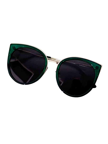 faaa43bdc829 Bellofox latest Fargo Sunnies sunglasses Green color Resin Cateye stylish  for women & girls: Amazon.in: Clothing & Accessories
