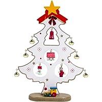 Holzrahmen Weihnachtsschmuck Lampe leuchtenden Weihnachtsbaum h/ängen Anh/änger Urlaub Dekor JoyFan Weihnachtsschmuck Lampe