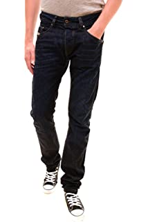 602fe40b Amazon.com: Diesel Mens Jeans Darron 0R07R Regular Slim-Tapered Dark ...