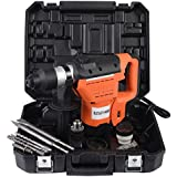 "UBRTools 1-1/2"" SDS Electric Rotary Hammer Drill Plus Demolition Bits Variable Speed New"