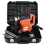Jikkolumlukka New 1-1/2'' SDS Electric Rotary Hammer Drill Plus Demolition Bits Variable Speed
