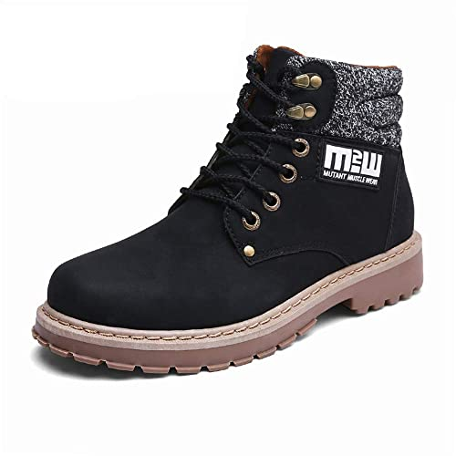 CHENSF Autumn Winter Men's Martin Boots Outdoor Work Boots
