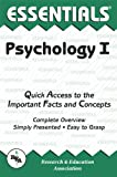 Psychology I Essentials, Research & Education Association Editors and Linda Leal, 0878919309