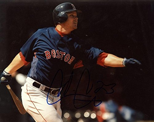 Cris Carter Signed Photo - Chris Boston Red Sox 8x10 W coa - Autographed MLB Photos (Cris Carter Photograph)