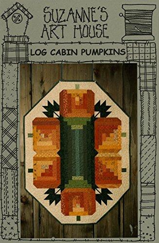 Log Cabin Pumpkins 113 Halloween Suzanne's Art House Quilt Pattern]()