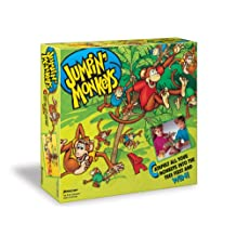 Pressman Toy Jumpin Monkeys Board Game