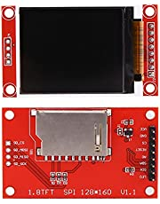 1.8 inch SPI TFT ST7735 LCD Display Module 128x160 High Color Display Screen Board for Arduino 51/AVR/STM32/ARM