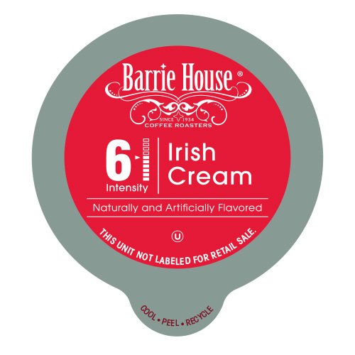 Barrie House Irish Cream Single Cup Capsule (48 Capsules): Amazon.com: Grocery & Gourmet Food