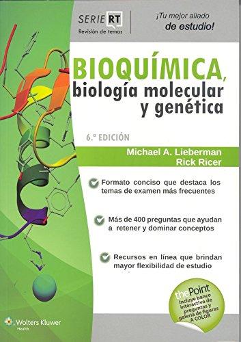 Bioquímica. Biología molecular y genética: Serie Revisión de temas (Revision De Temas) (Spanish Edition)