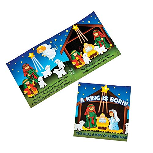 The Real Story of Christmas Nativity Readers by Fun Express