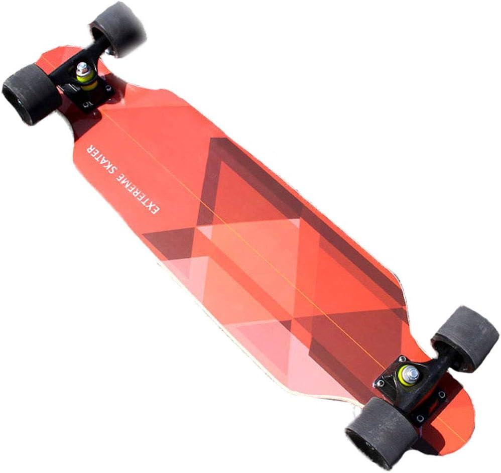 スケートボードツール ショートボードスケートボード女性大人初心者ブラシ通り小さな道路ボード男の子ダンスボードティーン四輪スケートボードスポーツプログラム子供のための最高の贈り物 (Color : オレンジ, Size : 80x11cm) オレンジ 80x11cm