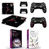 L'Amazo Protective Playstation 4 Skins Bundle Set of Sticker Vinyl decals for console and Ps4 controller silicone cover cases in Gift Box Gamer Kit Basketball Design Review