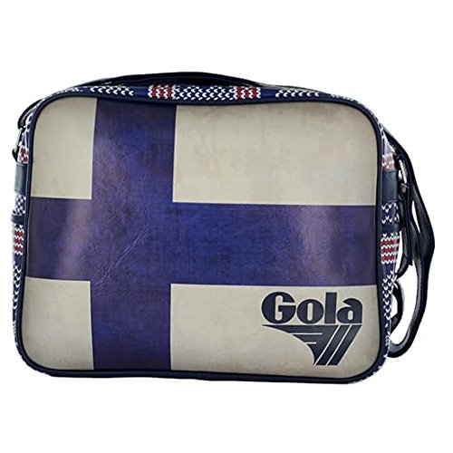 Gola , Damen Umhängetasche BLUE-CREAM-RED