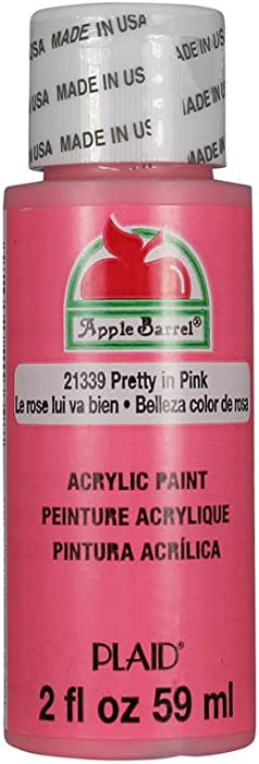 Apple Barrel Acrylic Paint in Assorted Colors (2 oz), 21339, Pretty In
