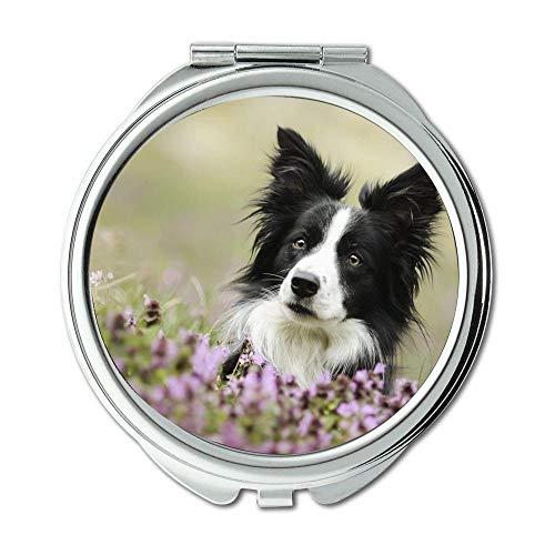 Mirror,Compact Mirror,Pet Friendly dog b q,pocket mirror,1 X 2X -