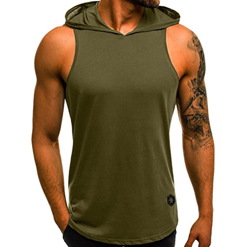 vermers Big Promotion Men Summer Casual Tank Tops Letter Printed Slim Sleeveless Vest T Shirts(3XL, (Club America Long Sleeve Jersey)