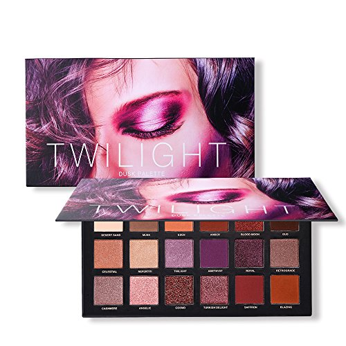 UCANBE 18 Color Eyeshadow Palette, Highly Pigmented 8 Matte + 10 Shimmer Eye shadows, Waterproof Long Lasting Makeup Pallet (Palette Eye Perfect 10)