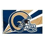 NFL Los Angeles Rams 3-by-5 Foot Helmet Flag