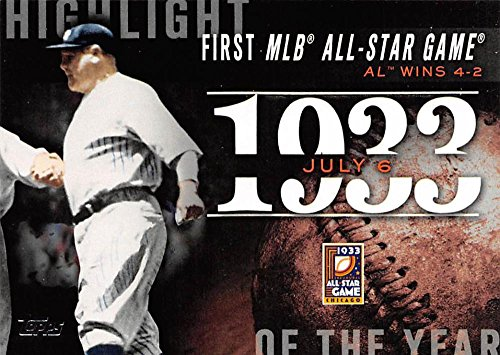 2015 Topps Highlight of the Year #H-34 First MLB All-Star Game - Class 1st Tracking Usps