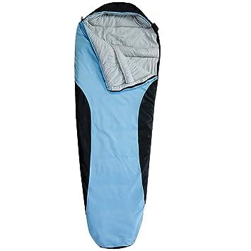 JIMEI Saco de Dormir Ultraligero para Camping o Camping - Sobre para Exterior Ligero, Portátil
