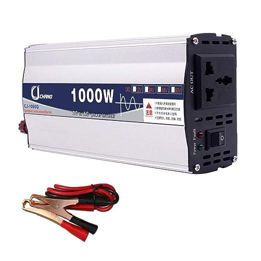 XBNBQ Inversor de Onda sinusoidal Pura de 3000W DC 12V / 24V ...