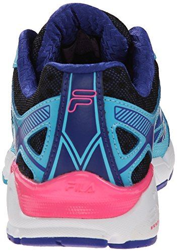 Fila Womens Dashtech Energized Running Shoe Blue Atoll/Royal Blue/Knock Out Pink 37VDWMJgC