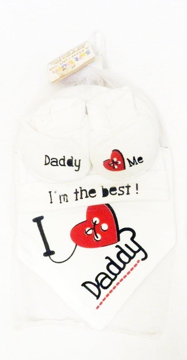 I Love Cricket como Daddy-Babero de bebé