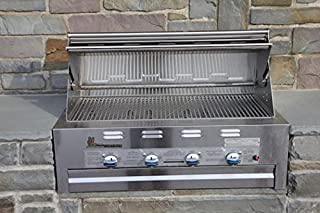 product image for Lazy Man Barbecue - Four Broiler Burners - Built in Grill Propane Model