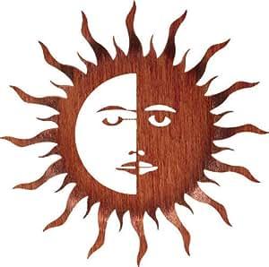 Amazon Com Bent Sun And Moon Metal Wall Art Southwest