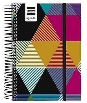 Finocam Agenda Escolar 15-16 1/8 DP Prints - Triangulos ...