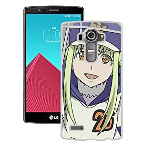 Popular And Unique Designed Cover Case For LG G4 With Darker Than Black Girl Blond Cap Umbrella Joy white Phone Case BY icecream design