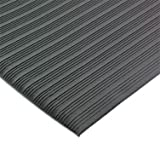 San Jamar KM4100 Vinyl Anti-Fatigue Sponge Mat, 36
