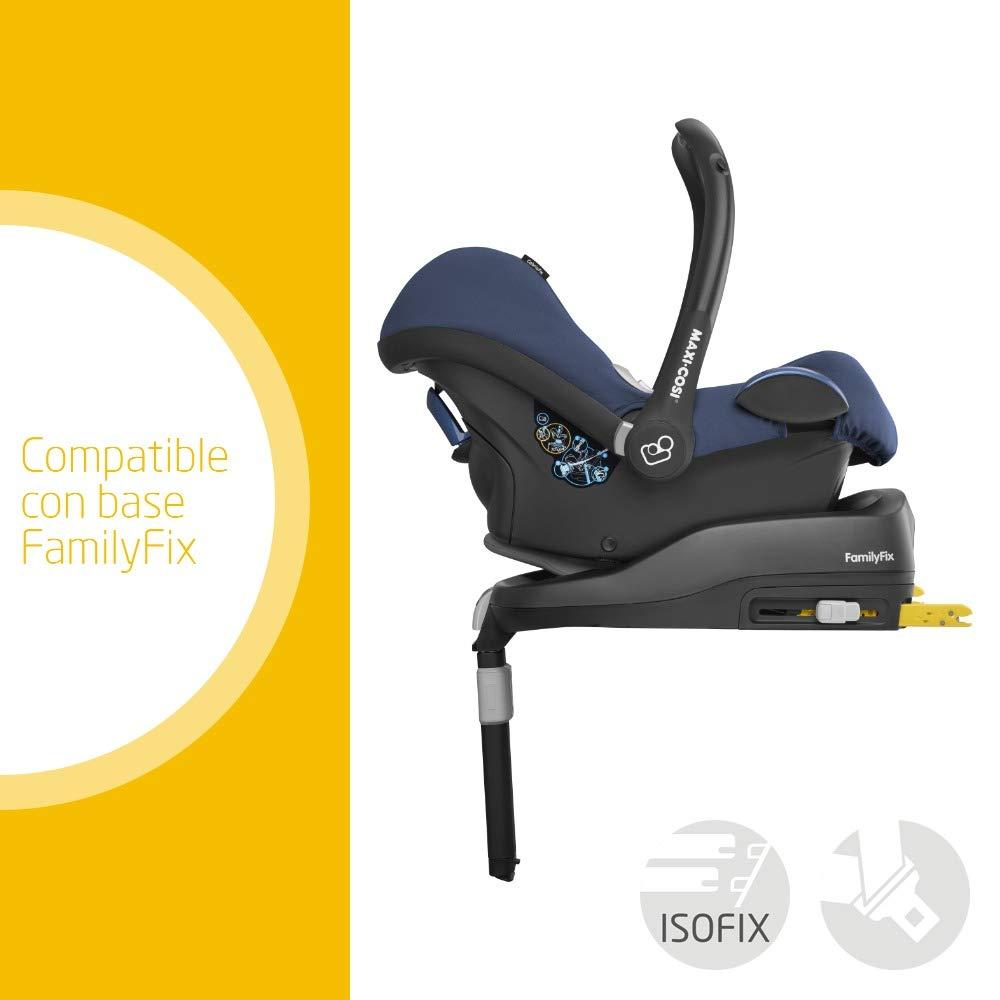 Maxi-Cosi CABRIOFIX Nomad Blue - Silla de auto reclinable y de alta seguridad para tu bebé, 0-12 meses, 0-13 kg, gr. 0+, color azul