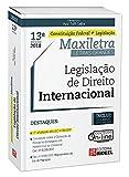 capa de Legislação de Direito Internacional. Constituição Federal + Legislação
