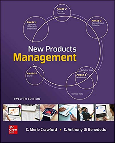 New Products Management, 12th Edition