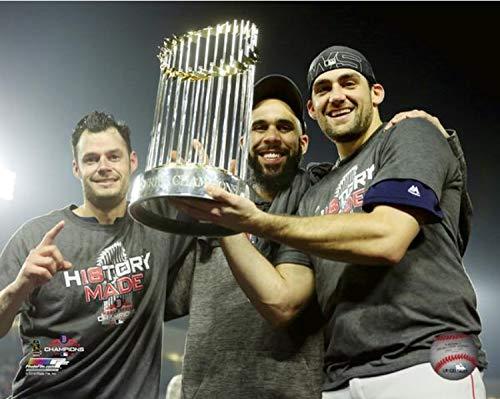 "Joe Kelly, David Price, Nathan Eovaldi Boston Red Sox 2018 MLB World Series Trophy Photo (Size: 8"" x 10"")"