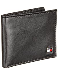 Tommy Hilfiger Men's Genuine Leather Oxford Slimfold Wallet