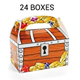 Treat Boxes, Treasure Chest Design (2 dz)